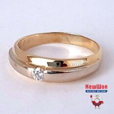 Бронь! Золотое кольцо с бриллиантом
