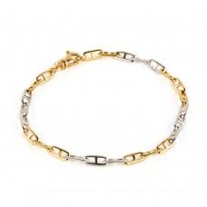 """Золотой браслет в стиле Tiffany """"Chain"""""""