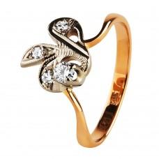 """Золотое кольцо с бриллиантами """"Magic"""""""
