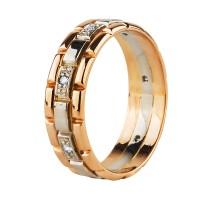 Нет в наличии! Золотое кольцо с бриллиантами