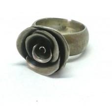 """Серебряное кольцо """"Роза"""""""