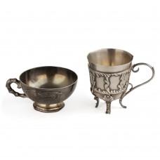 Серебряные чашки