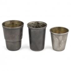 Серебряные стопки