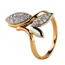 """Золотое кольцо с бриллиантами """"Fantasy"""""""