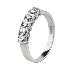 Продано! Золотое кольцо с бриллиантами