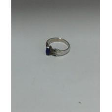Продано! Серебряное кольцо с ультрамариновым корундом