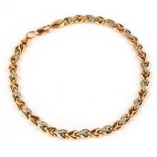Золотой браслет с цирконием