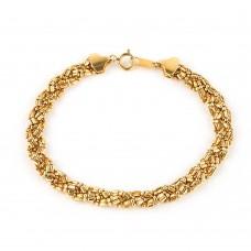 Золотой комплект: Цепочка и браслет