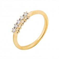 """Золотое кольцо с бриллиантами """"Рапсодия"""""""