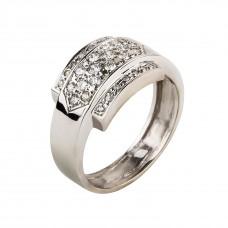 """Золотое кольцо с бриллиантами (мужское) """"Маргулис"""""""