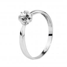"""Золотое кольцо с бриллиантом """"Шая"""""""