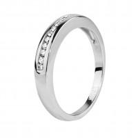 """Бронь! Золотое кольцо с бриллиантами """"Лунная тропинка"""""""
